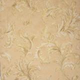 Cumpara ieftin Tapet clasic, cu frunze, crem, auriu, vinil, dormitor, lavabil, Di Seta 57914