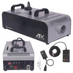 Masina profesionala pentru ceata AFX, 1500 W, timer, telecomanda