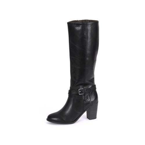 Cizme Femei Tamaris Black Leather 12554523001
