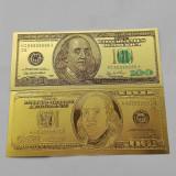 100 dolari  - bancnota polymer aurita - UNC