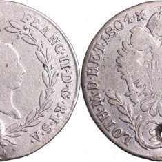 1804 - G - 20 kreuzer - Francis II - Imperiul Austriac