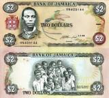 !!! JAMAICA - 2 DOLARI 1993 - P 69 e - UNC