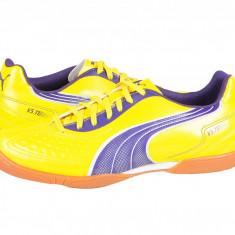Ghete fotbal sala Puma V5.11 IT yellow-purple-white 10234004