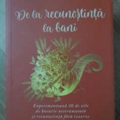 DE LA RECUNOSTINTA LA BANI - PAM GROUT