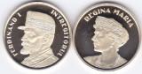 Moneda Romania 50 Bani 2019 - Proof ( set x2 - Ferdinand I + Regina Maria )