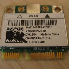 Placa wireless laptop Dell Latitude E6430, DW1504, 086RR6, BCM94313HMG2L