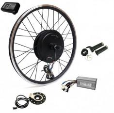 Kit conversie bicicleta electrica 36v 500w (roata fata 28 inch) (FARA BATERIE) foto