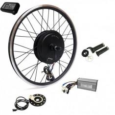 Cumpara ieftin Kit conversie bicicleta electrica 36v 500w (roata fata 28 inch) (FARA BATERIE)