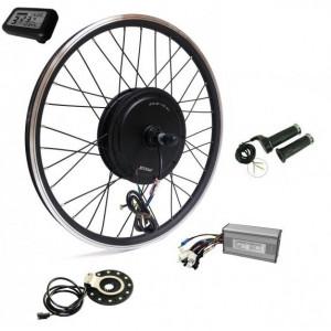 Kit conversie bicicleta electrica 36v 500w (roata fata 26 inch) (FARA BATERIE)