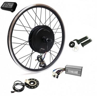 Kit conversie bicicleta electrica 36v1000w (roata fata 26 inch) (FARA BATERIE) foto