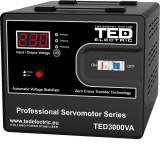Stabilizator de retea cu servomotor maxim 3000VA / 1800W Ted 3000