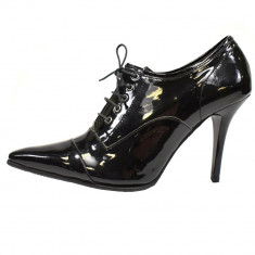 Pantofi dama, din piele naturala, marca Endican, 570-1, negru , marime: 39