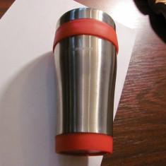 Recipient / cana pt bauturi fierbinti (cafea ceai) GARANTA Asigurari / nefolosit