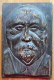 Sculptura in lemn de Ioan Sarghie din Bucovina , Autoportret , 1932