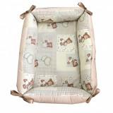Cumpara ieftin Reductor Bebe Bed Nest Deseda Ursuleti bej in carouri