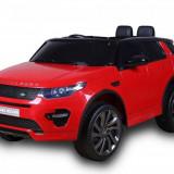 Masinuta electrica cu scaun de piele Land Rover Discovery Sport Red