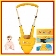 Ham premergator Suport Bebe copii BestBaby, 6-12 luni, Textil, Albastru