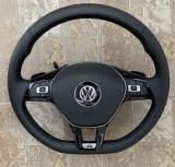 Volan Piele VW Golf 5 6 7 Passat B6 B7 B8 , CC, Touran ,Tiguan, Jetta // NOU, Volkswagen
