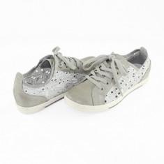 Pantofi casual dama - Marco Tozzi gri - 2-23604-24-Quartz-41