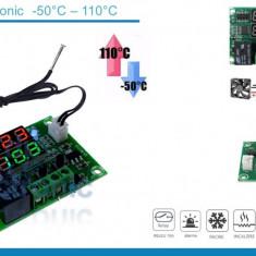 Termostat electronic doua afisaje 12V