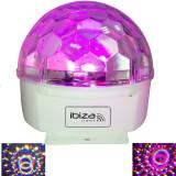Efect lumini astro LED Ibiza cu telecomanda