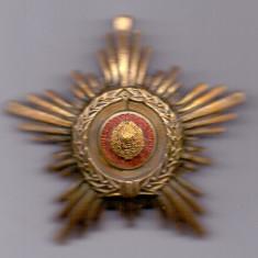 Ordinul Steaua Romaniei clasa V R.S.R.