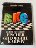 C.Stefaniu - Secretele marilor maestri Fischer, Gheorghiu, Karpov,RF11/3