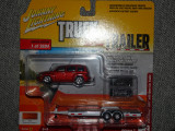 Macheta Johnny Lightning Chevrolet HHR car trailer 1:64