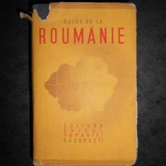 AL. CICIO POP - GUIDE DE LA ROUMANIE (1940, bogata in imagini si harti)
