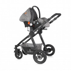 Carucior transformabil 3 in 1 Alexa Dark Grey, Lorelli