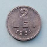 ROMANIA  -  2 Lei 1951