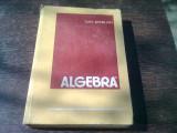 ALGEBRA - DAN BARBILIAN