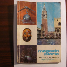 "CY - Revista ""Magazin Istoric / Nr. 4 (61) / Aprilie 1972"""