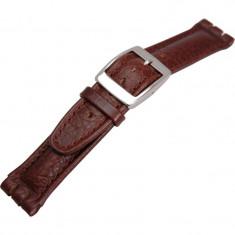 Curea de ceas maro Morellato Hilton Swatch 20 / 19mm