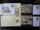 Serie timbre fauna WWF animale pasari nestampilat postale filatelice