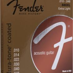Corzi chitara acustica Fender 880XL Coated 80/20 Bronze 10-48