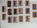 Umm al quwain - Timbre trenuri, locomotive, cai ferate, nestampilate MNH, Nestampilat