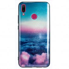 Husa Oglinda Huawei Y9 2019 Sky