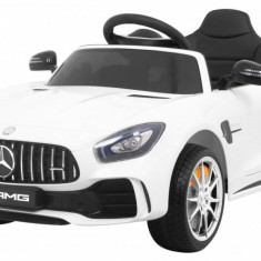 Masinuta electrica Mercedes AMG GT R, alb
