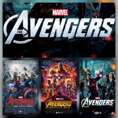 Poster Marvel The Avengers Afis A3