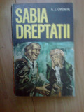 b2a SABIA DREPTATII -A. J. CRONIN
