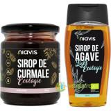 Sirop de Curmale Ecologic/Bio 250g + Sirop de Agave Light Ecologic/Bio 250ml/350g