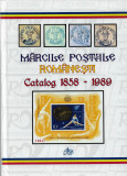 CATALOG FILATELIC ROMANIA, PERIOADA 1858 - 1989, COLOR, CARTONAT - ABSOLUT NOU !