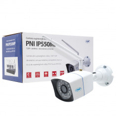 Resigilat : Camera supraveghere video PNI IP550MP 720p wireless cu IP de exterior