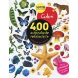 Culori. 400 de autocolante refolosibile - Ed. Litera