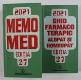 MEMO MED , EDITIA 27 de DUMITRU DOBRESCU ...RUXANDRA McKINNON , VOLUMELE I - II , 2021