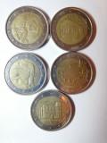 Monede 2 euro 2017 circulate, Europa