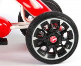 Kart cu pedale Go Kart Abarth rosu