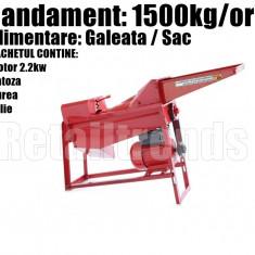 Sfarmatoare Batoza Desfacatoare Curatator Porumb Galeata Sac 1500kg/ora