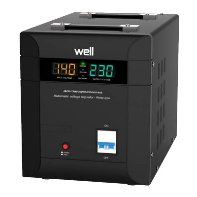 Stabilizator automat de tensiune Agile Well, protectie IP20, 10000 VA foto